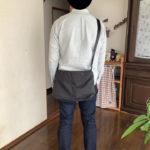 【Anello】ショルダーバッグとiPadの相性抜群でメンズにおすすめ!